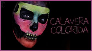 Tutorial calavera colorida