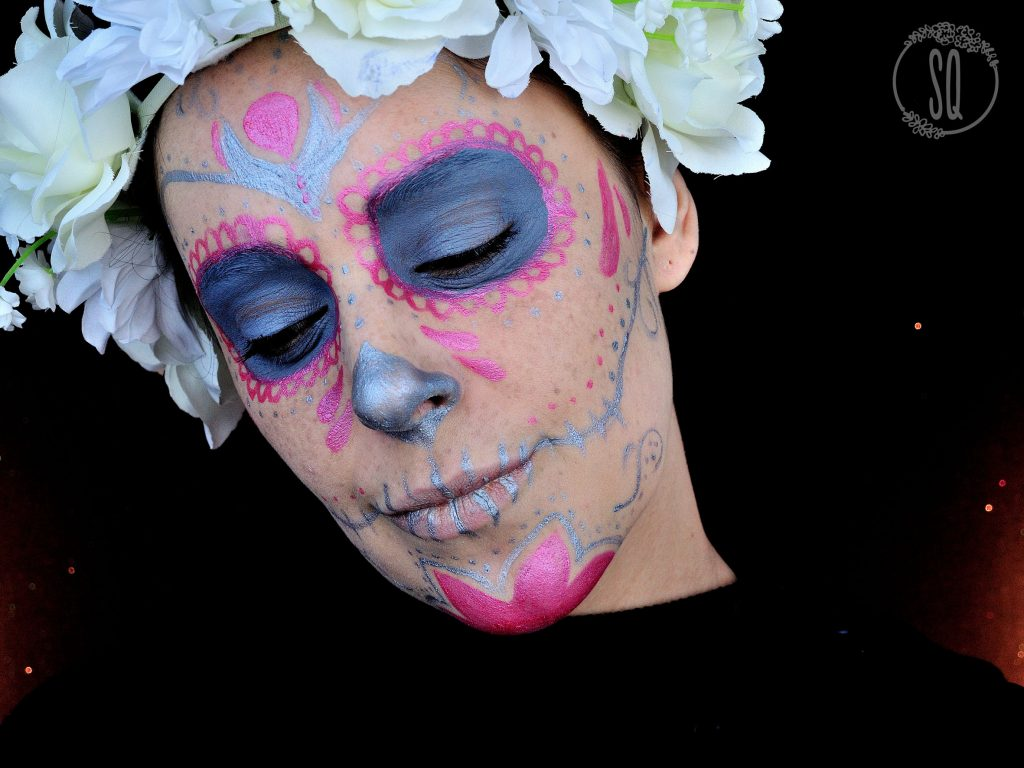 Tutorial Catrina de colores alegres