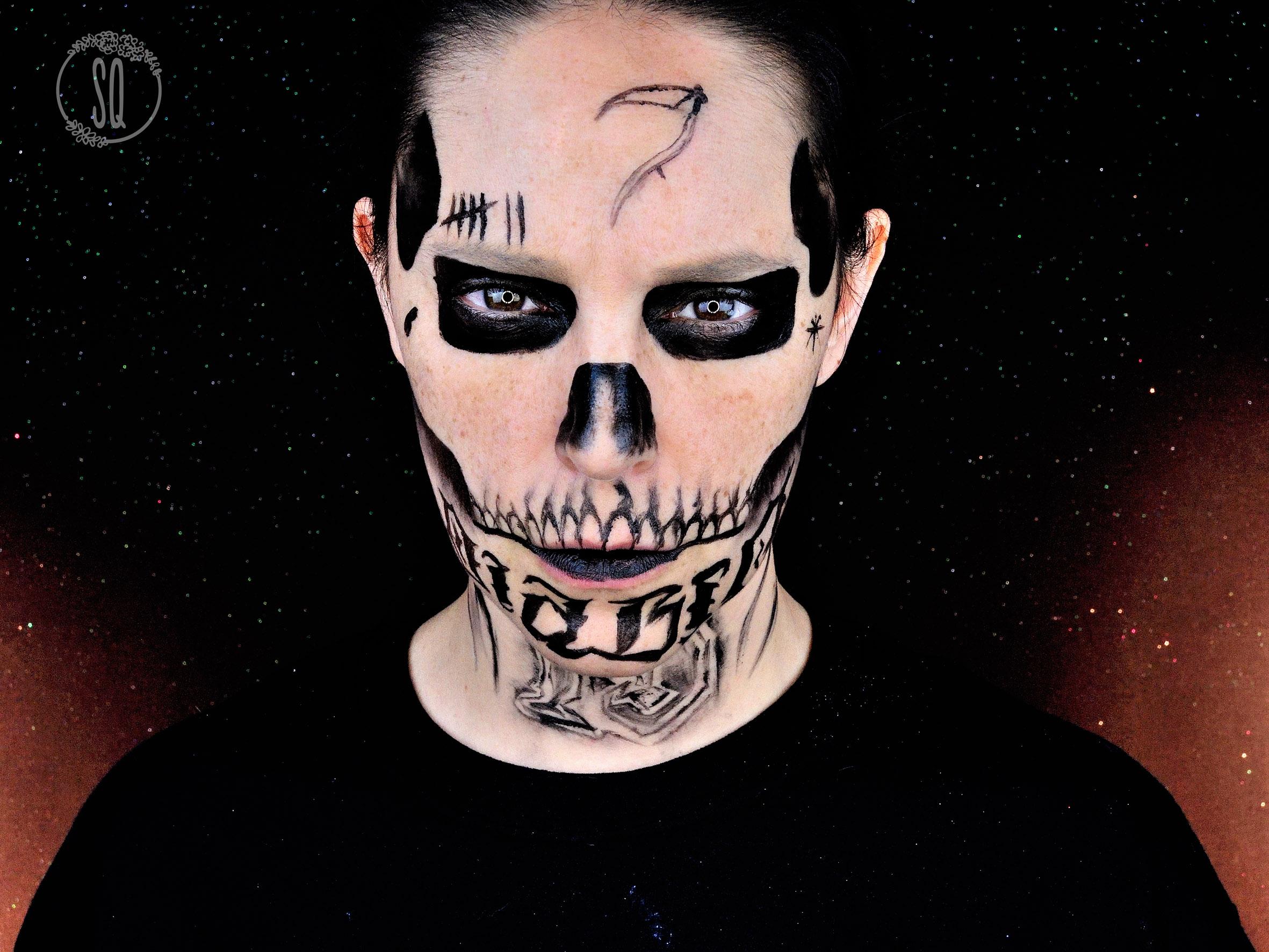 demonio maquillaje