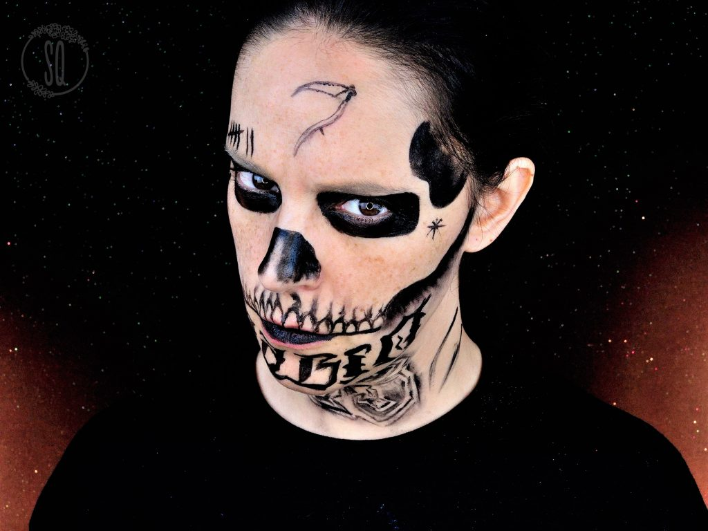 El Diablo makeup tutorial from the Suicide Squad for Halloween