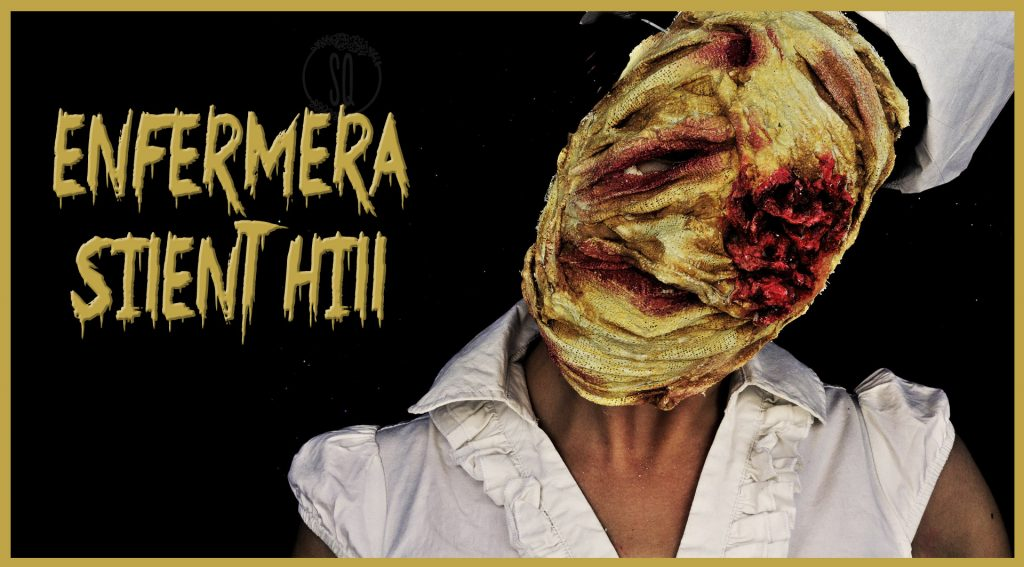 Tutorial máscara enfermeras de Silent Hill para Halloween