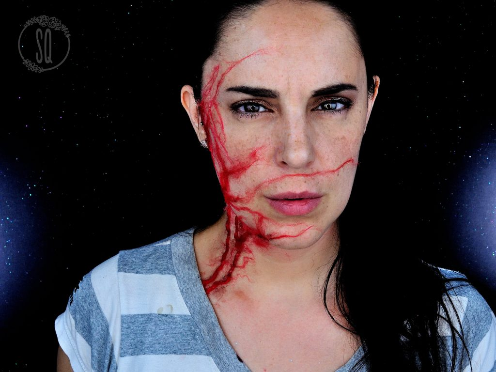 Easy infection special effect tutorial for Halloween