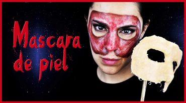 Tutorial máscara de piel y rostro sin piel para Halloween