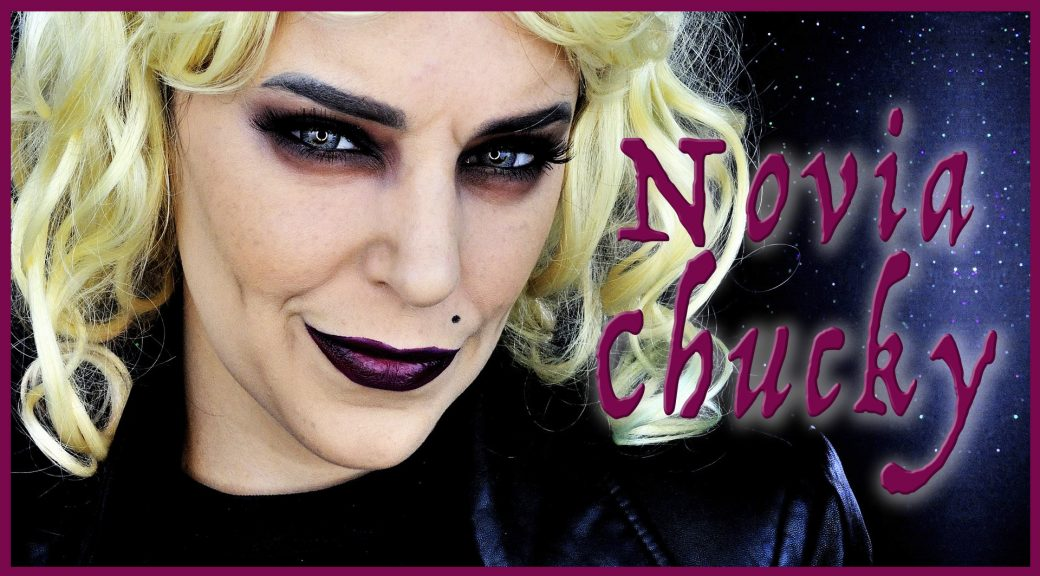 Tutorial Maquillaje Novia de Chucky para Halloween