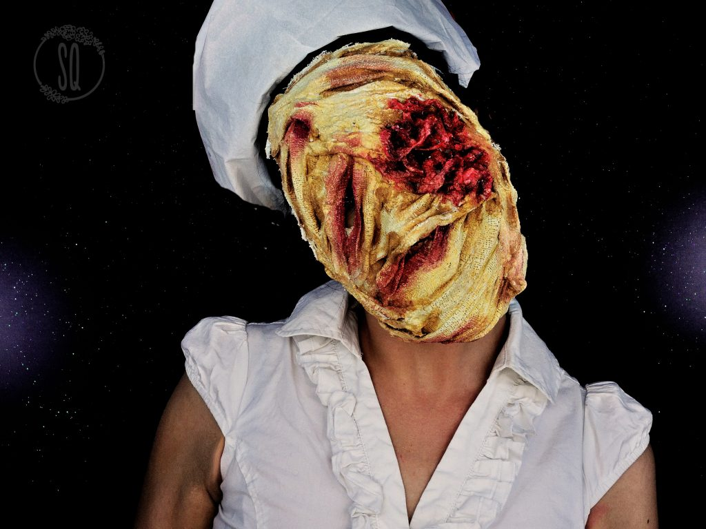 Mask tutorial of the Silent Hill nurse