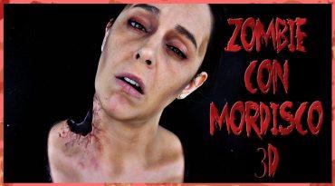 Tutorial maquillaje Zombie con mordisco 3D
