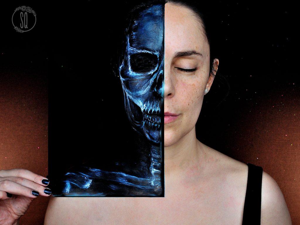 Tutorial maquillaje Rayos X ilusiones visuales