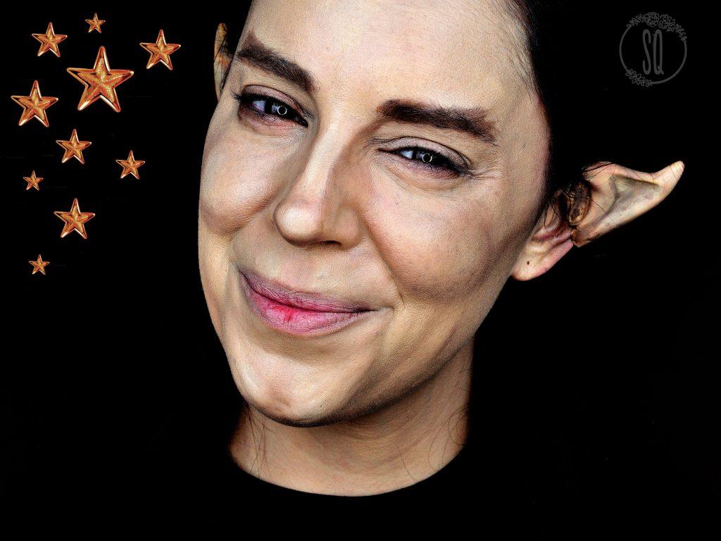 Tutorial maquillaje Ayudante de Papa Noel