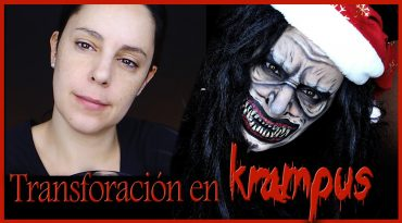 Transformación en el demonio Krampus