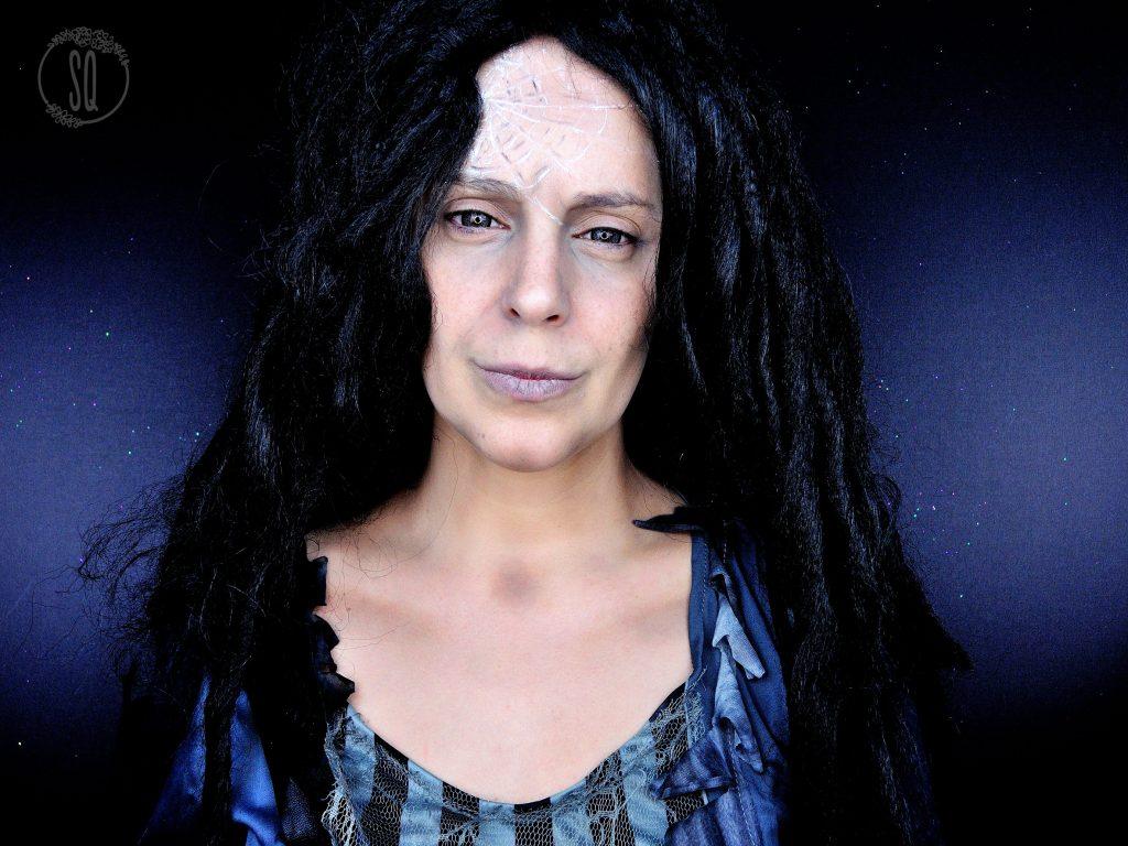 Tutorial maquillaje Fantasma del Pasado