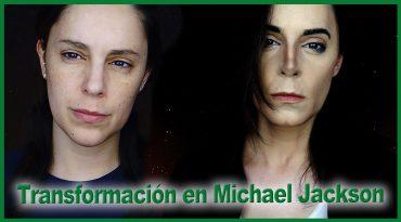 Maquillaje transformación en Michael Jackson