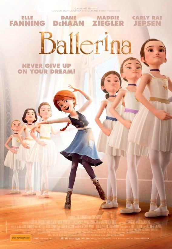 Ballerina, una película llena de motivación y lucha por los sueños