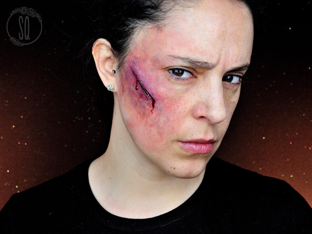 Cut With Bruise Makeup Tutorial Effect Silvia Quir 243 S