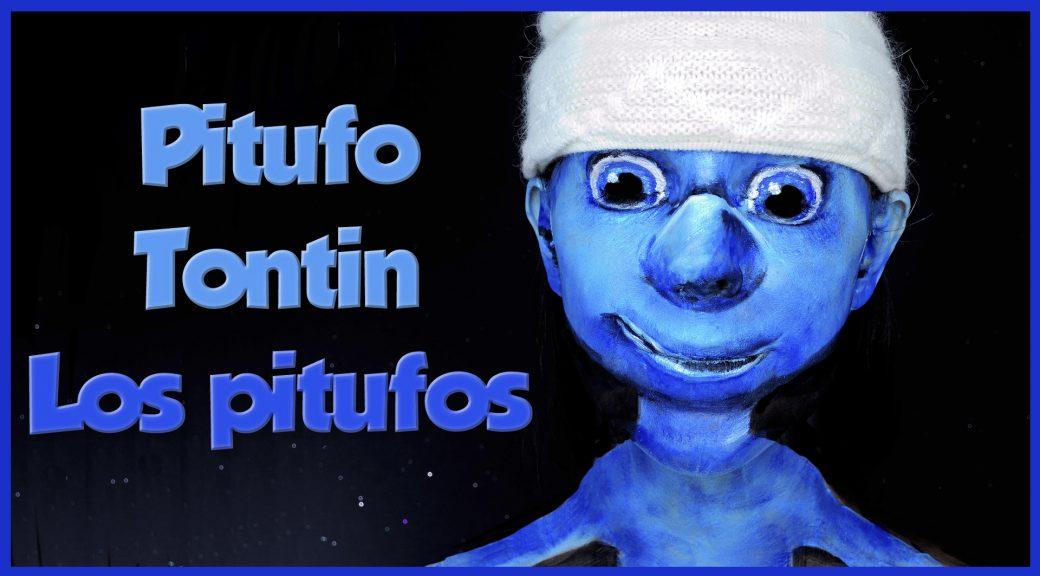 Maquillaje Pitufo Tontin de Los Pitufos y sorteo
