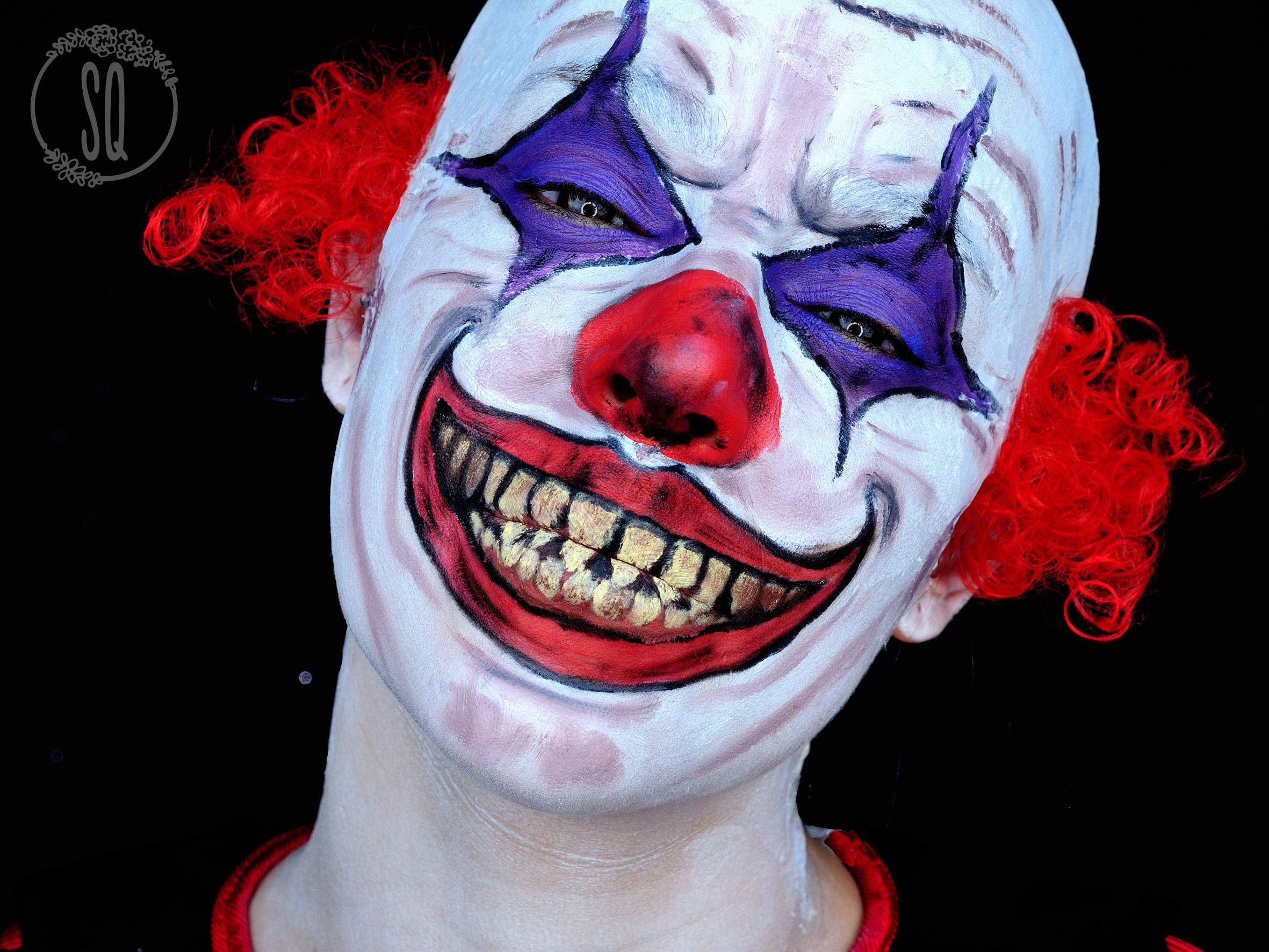 Zombie Clown Makeup - Mugeek Vidalondon