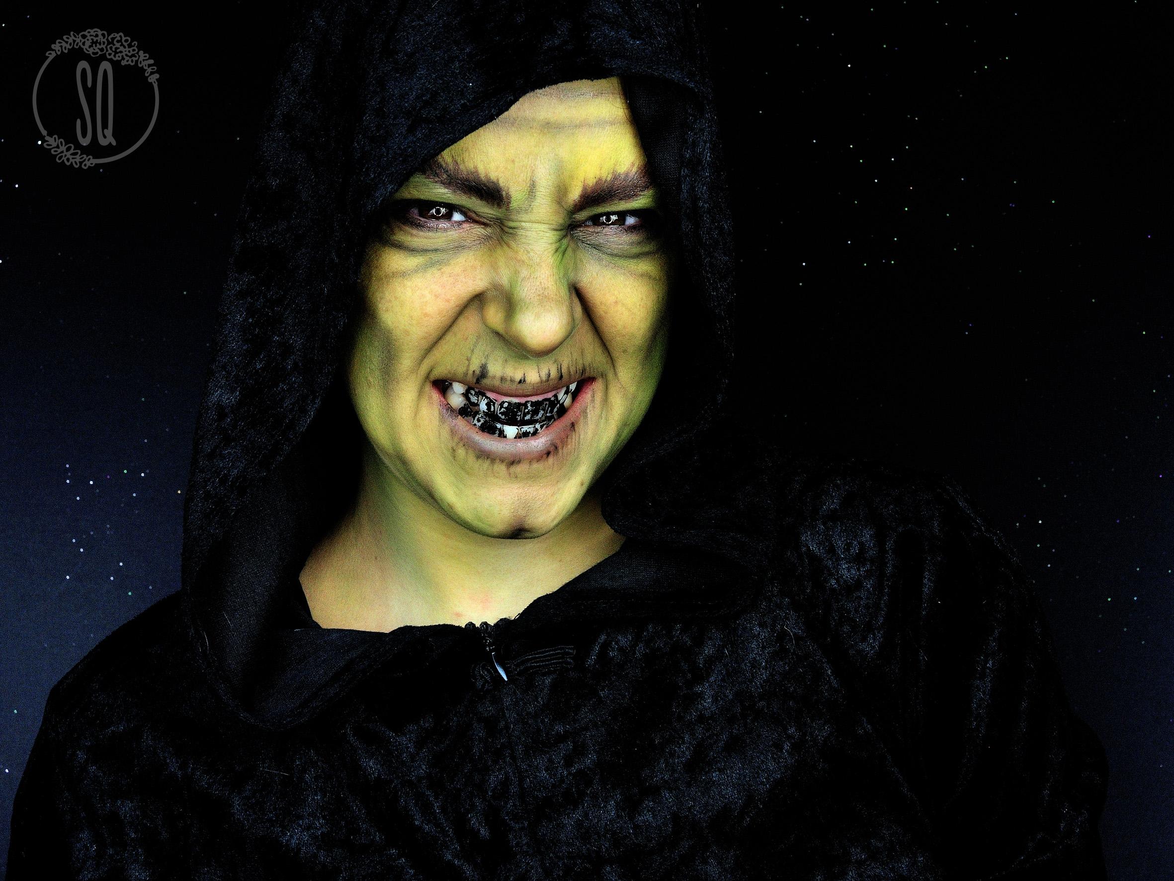 tutorial maquillaje bruja - Maquillaje Bruja