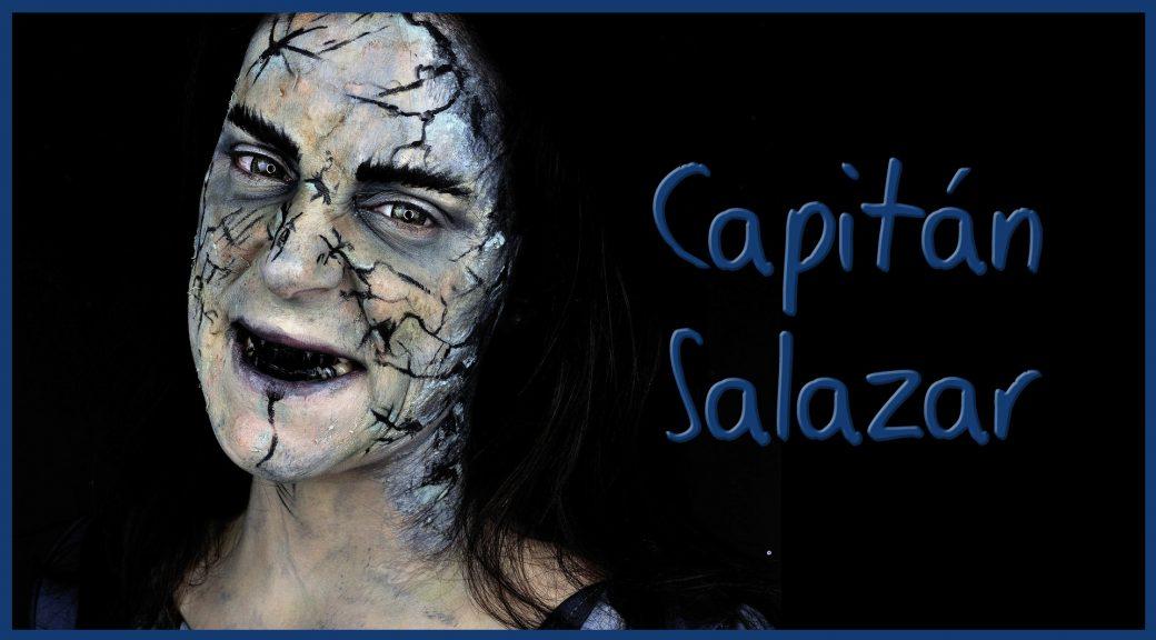 Transformación en Capitan Salazar de Piratas del Caribe