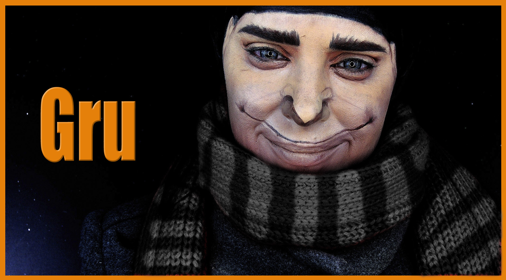 Makeup transformation into Gru