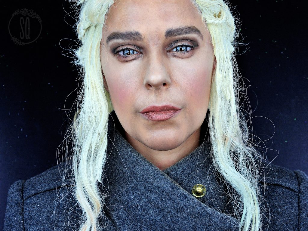 Makeup transformation into Daenerys Targaryan, Game of Thrones serie