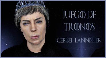 Maquillaje transformación en Cersei, serie Juego de Tronos