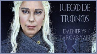 Maquillaje transformación en Daenerys Targaryan, serie Juego de Tronos