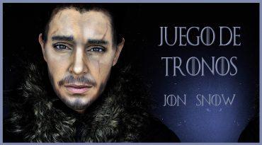Maquillaje transformación Jon Snow, serie Juego de Tronos