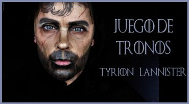 Maquilla transformación en Tyrion Lannister, serie Juego de Tronos