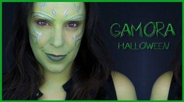 Gamora transformation makeup tutorial