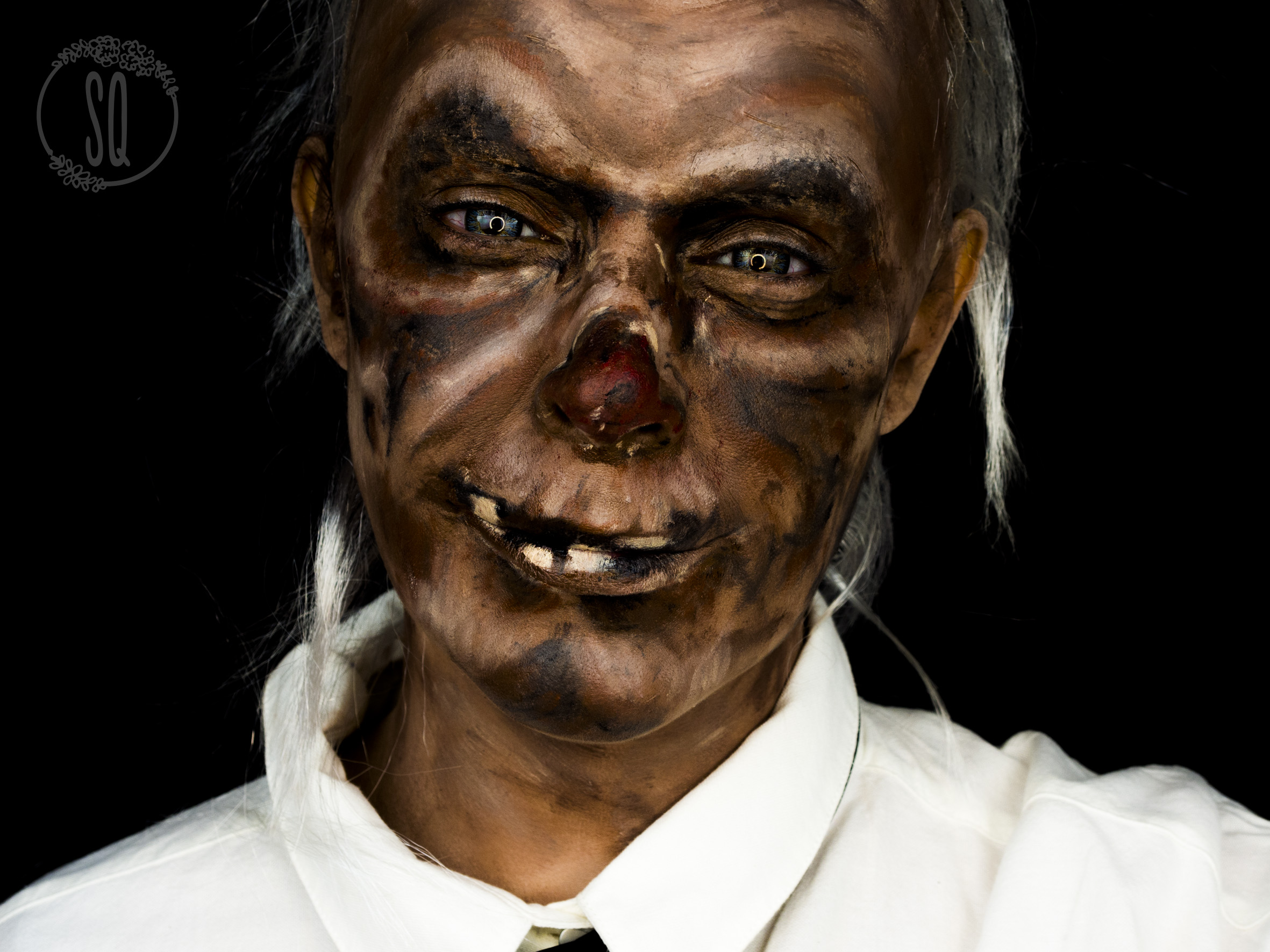 Crypt Keeper Makeup Tutorial For Halloween Silvia Quir 243 S