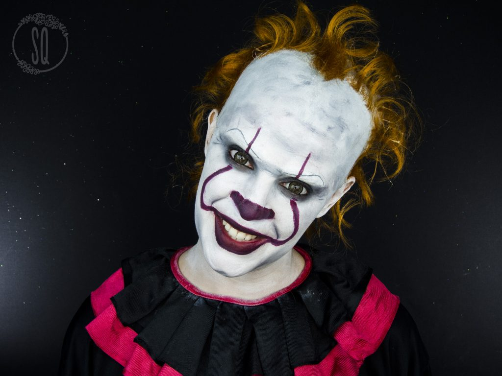 Maquillaje Payaso Pennywise de It
