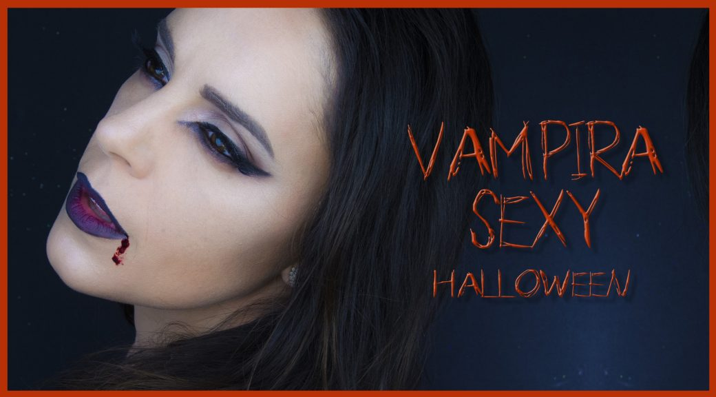 Maquillaje vampira sexy