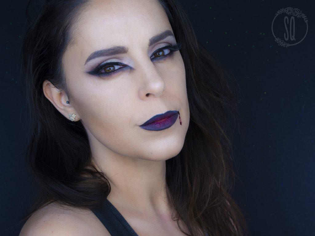 Sexy vampire makeup