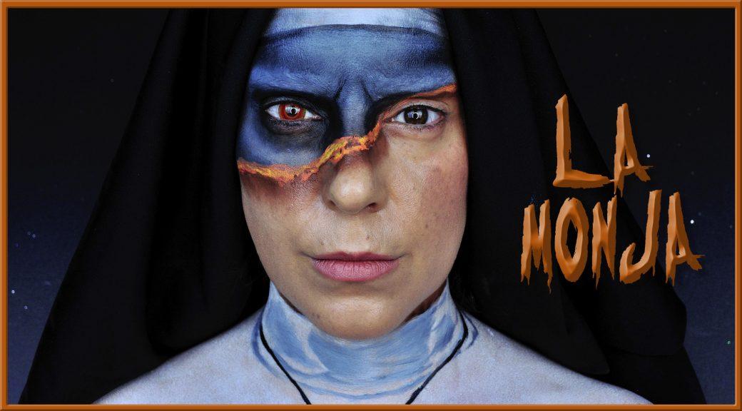 Maquillaje de la película La Monja