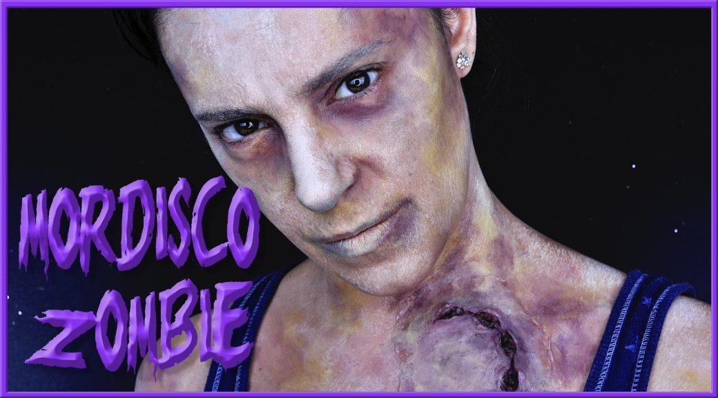 Maquillaje Zombie con mordisco