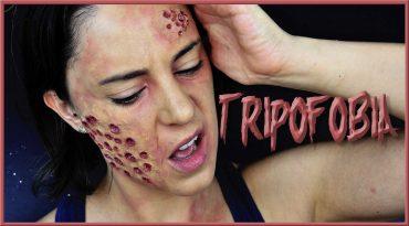 Tutorial maquillaje Tripofobia, efecto de agujeros